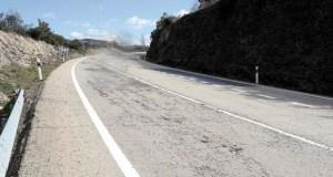 Un falecido nun accidente de tráfico na N-120, no municipio de Larouco