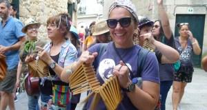 A ritmo de folións en pleno agosto en Trives