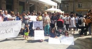 A comarca de Terras de Trives volve saír á rúa para defender o servizo de pediatría