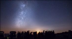 A observación nocturna, un dos atractivos de AstroTrevinca