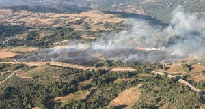 Incendio forestal no Bolo