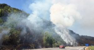 Incendio en Peites (Ribas de Sil)