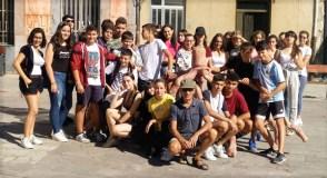 Alumnos do IES Lauro Olmo percorren as instalacións de enBarcArte