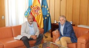 Reunión do subdelegado do Goberno en Ourense co presidente da Confederación H. Miño-Sil