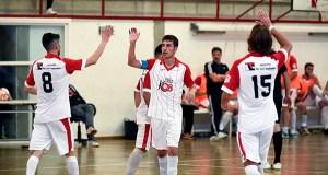 O Tres Cuñados FS celebra unha nova vitoria en Calabagueiros