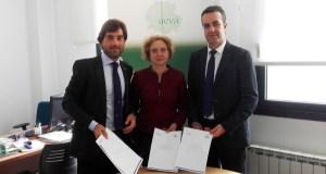 AEVA renova o seu convenio de colaboración con Abanca