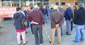 Última concentración de outubro no Barco en defensa do sistema público de pensións