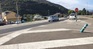Vilamartín leva anos pedindo un paso elevado ou subterráneo para o cruce coa N-120 no que se producía un accidente esta mañá
