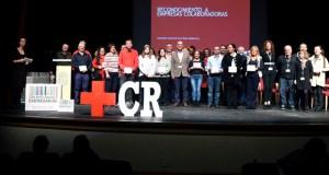 Cruz Vermella recoñece o labor das empresas colaboradoras de Valdeorras