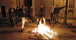 Xuntanza popular en Vilanova (O Barco) para celebrar o magosto
