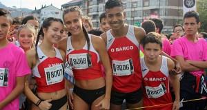 Triveses e valdeorreses, entre os 11.000 corredores da San Martiño 2018