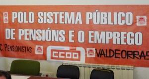 Asemblea informativa do Colectivo de Pensionistas de Valdeorras o 7 de novembro, no Barco