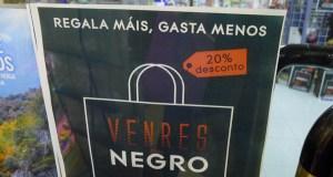 """Descontos dun 20% no """"Black Friday"""" en 45 comercios de AEVA e do Barco CCA"""