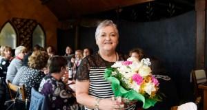 Xantar de homenaxe e despedida a Conchi Belmonte, auxiliar de enfermería durante 27 anos no HCV