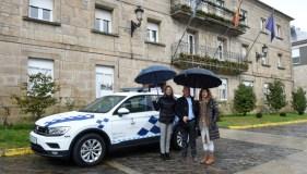Trives adquire un novo vehículo para a Policía Local