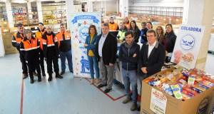 Campaña solidaria de recollida de alimentos nas sedes das xefaturas territoriais da Xunta en Ourense