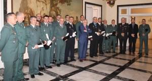 Un garda civil do Subsector de Tráfico de Valdeorras recibe unha conderación á Orde do Mérito Civil