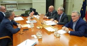 Os alcaldes do Barco e de Monforte abordan o proxecto da A-76 co secretario xeral de Infraestruturas