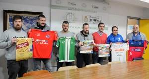 Os equipos de fútbol sala e fútbol de Ourense únense nun partido solidario no Pavillón dos Remedios