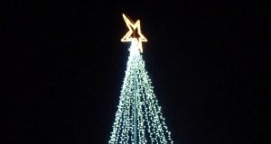 A luz do Nadal, en Petín