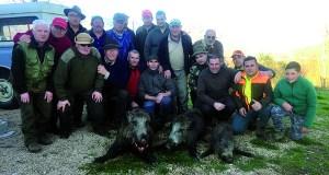 Día de caza para a Peña Campelo de Petín