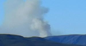 Extinguido o incendio forestal de Requeixo (Chandrexa) tas queimar 175 hectáreas