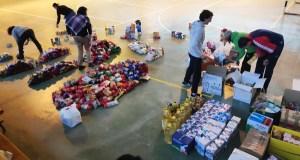 Dúas toneladas de solidariedade en forma de alimentos, nas Terras de Trives