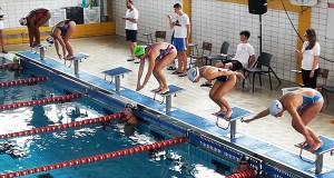 Os Escualos de Ourense, entre os participantes no campionato galego de natación máster de inverno