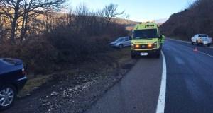Accidente de tráfico na OU-536, en Trives