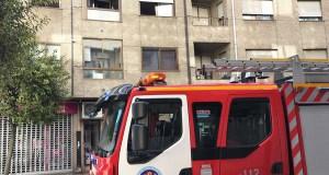 Incendio nun edificio do Barco