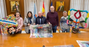 A V Mascarada Ibérica de Viana e Vilariño reunirá 42 festas de inverno nun desfile con 800 participantes