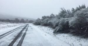 Actívase a fase de alerta por nevadas do Plan de vialidade invernal en estradas ourensás e lucenses
