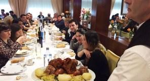 A Festa do Botelo do Barco, nos restaurantes