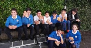 """""""Bocata solidario"""" no colexio San Pablo VI-Fátima da Rúa"""