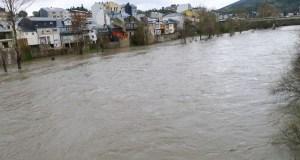 Activada a alerta por desbordamento no río Sil nun dos seus puntos no Barco