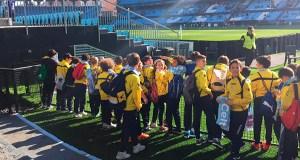 Os cativos do C.D. Rúa visitan o Estadio de Balaídos