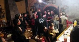 Animados Cantos de Taberna polas covas de Vilamartín de Valdeorras