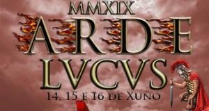 Unha ruesa, no concurso para o cartel de Arde Lvcvs 2019