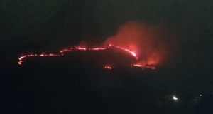 Seguen os lumes na provincia de Ourense en pleno inverno