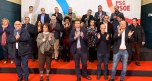 Acto de presentación dos candidatos socialistas ás municipais na comarca de Ourense