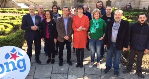 Ana Pontón presenta, xunto a Iago Tabarés, as candidaturas do BNG en Ourense ás eleccións xerais