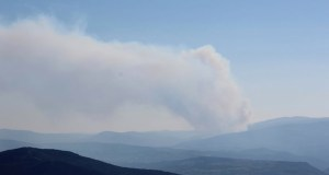 Activo un incendio forestal con dous focos en Sabuguido (Vilariño de Conso)