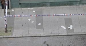 Precaución ao camiñar pola céntrica avenida Conde Fenosa do Barco