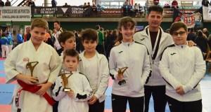 Tres valdeorreses no podio do campionato galego infantil de kárate