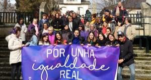 """A comarca trivesa reivindica unha """"igualdade real"""" no 8M cunha marcha"""