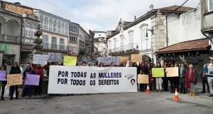 """Viana do Bolo concéntrase """"Por todas as mulleres, por todos os dereitos"""" no 8M"""