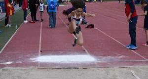 Xiana Pungín (Adas), triple ouro no Campionato de España para atletas con déficit visual