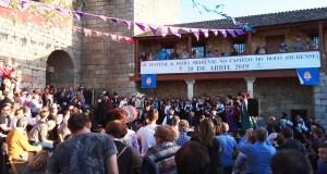 O Bolo volve á Idade Media con música e cetrería