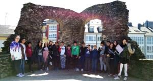 Visita didáctica do alumnado do IES Cosme López da Rúa a Lugo