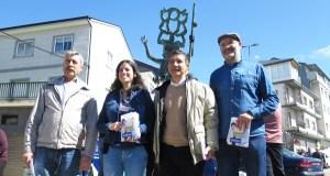 O nacionalista Iago Tabarés pide en Viana mellores conexións con A Rúa e con A Gudiña